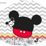 Chapeuzinho de Festa Mickey Baby Vintage