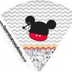 Cone Guloseimas Mickey Baby Vintage