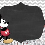 Convite Festa Mickey Vintage