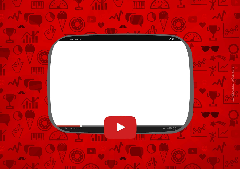 Convite Festa Youtube 6