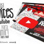 Convite Festa Youtube Grátis para Personalizar e Imprimir