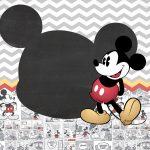 Convite Infantil Mickey Vintage