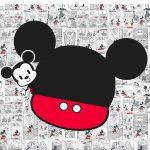 Convite Mickey Baby Vintage 2