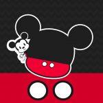 Convite Mickey Baby Vintage 6