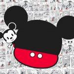 Convite Festa Mickey Baby Vintage 8
