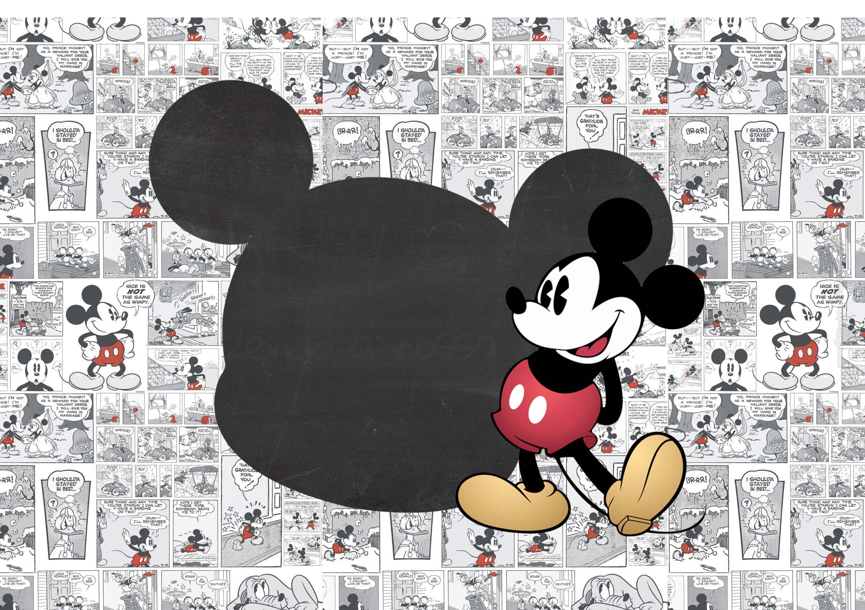 Convite personalizado Mickey Mouse Vintage