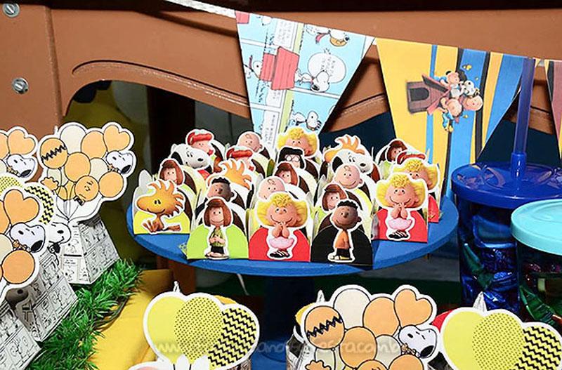 Docinhos Festa Infantil Snoopy do Vini