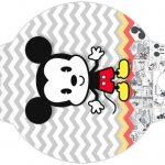 Enfeite Canudinho Mickey Baby Vintage