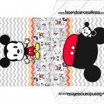 Envelope CD DVD Mickey Baby Vintage