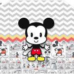Envelope Convite Mickey Baby Vintage