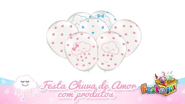 Festa Chuva de Amor com Produtos FestaBox 3