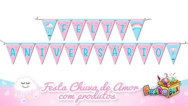 Festa Chuva de Amor com Produtos FestaBox 6