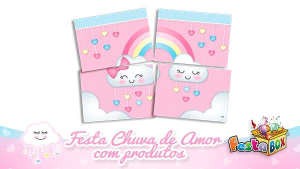 Festa Chuva de Amor com Produtos FestaBox 7