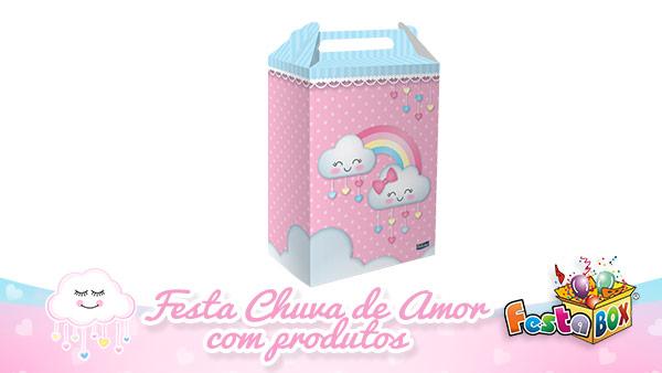 Festa Chuva de Amor com Produtos FestaBox 8