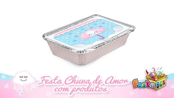 Festa Infantil Chuva de Amor com Produtos FestaBox 2