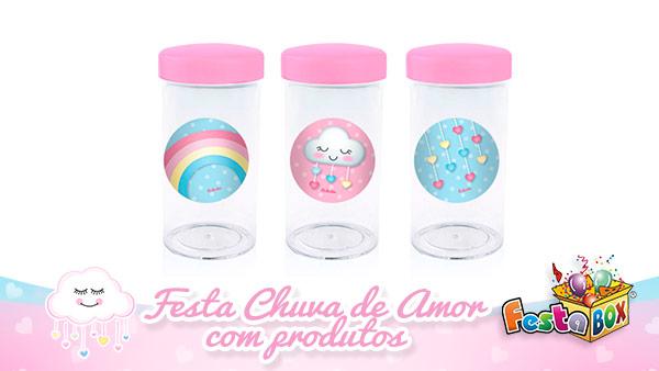 Festa Infantil Chuva de Amor com Produtos FestaBox 4