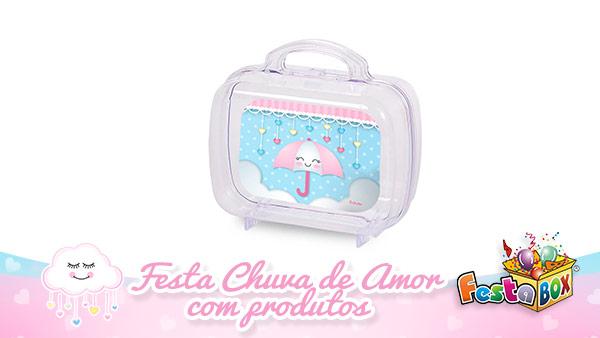 Festa Infantil Chuva de Amor com Produtos FestaBox 5