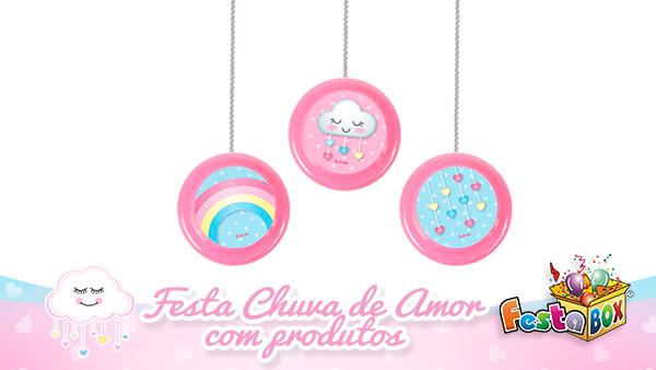 Festa Infantil Chuva de Amor com Produtos FestaBox 6