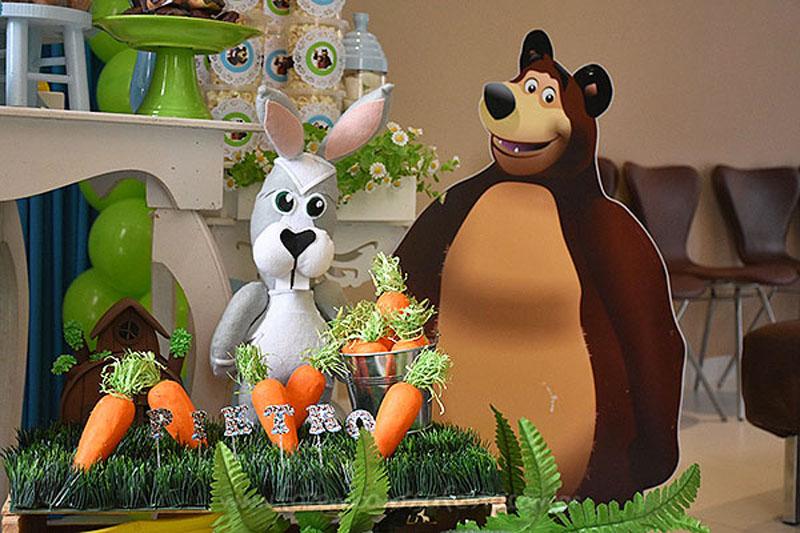 Festa Masha e o Urso do Pietro 23