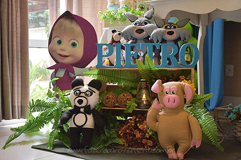 Festa Infantil Masha e o Urso 5