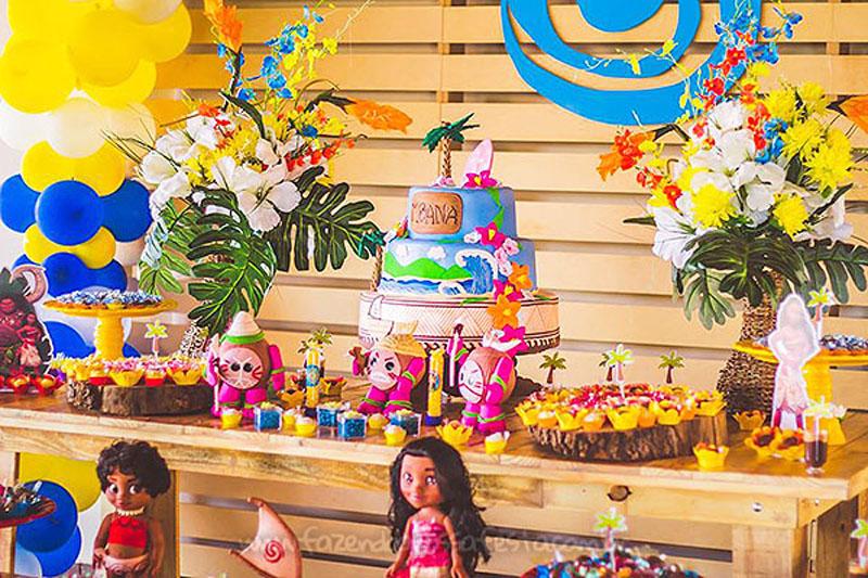 Festa Infantil Moana da Sofia 10