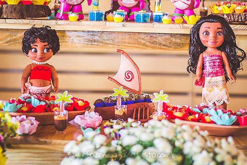 Festa Infantil Moana da Sofia 12