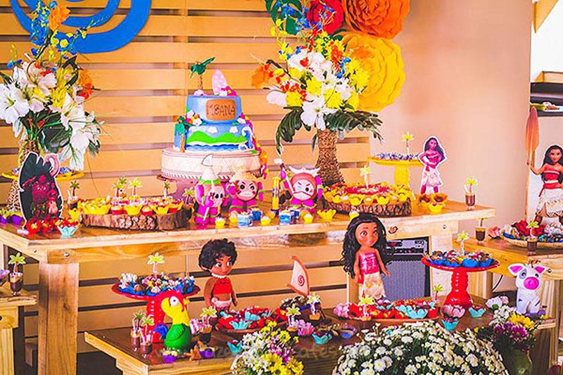 Festa Infantil Moana da Sofia 18
