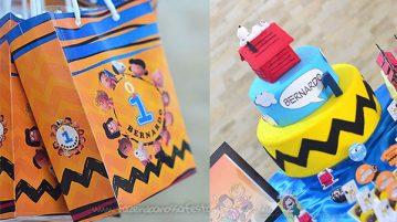 Festa Infantil Snoopy do Bernardo