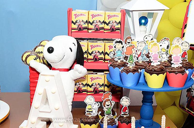 Festa Infantil Snoopy do Vini 2
