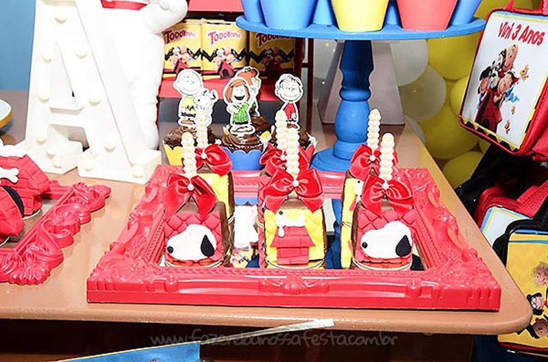 Festa Infantil Snoopy do Vini 3