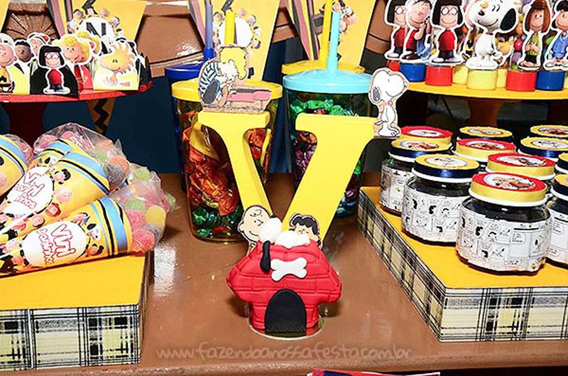 Festa Infantil Snoopy do Vini 4