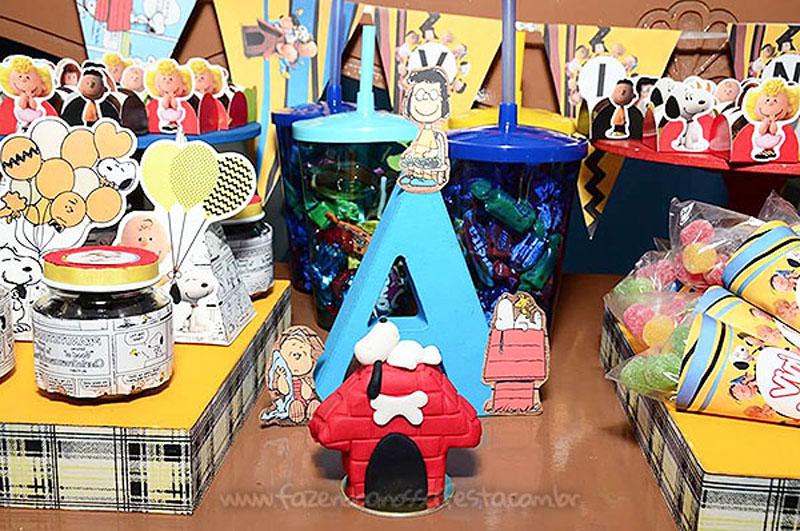 Festa Infantil Snoopy do Vini 6