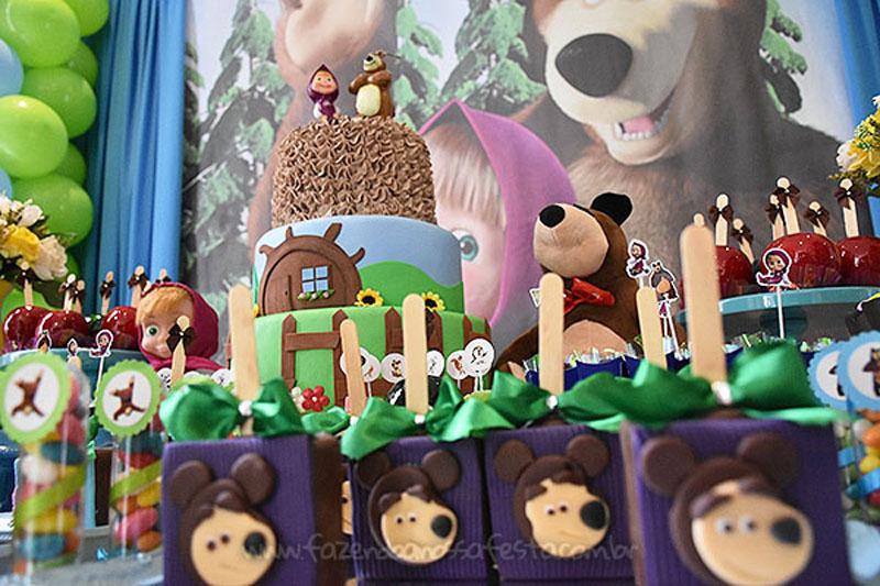 Festa Masha e o Urso do Pietro 3