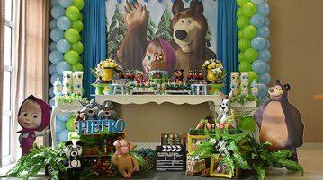 Festa Masha e o Urso do Pietro