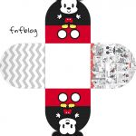 Forminha Docinho 3D Mickey Baby Vintage Kit Festa