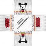Forminha docinho quadrada Mickey Baby Vintage