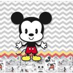 Lata de leite Mickey Baby Vintage
