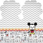 Marcador de Paginas Mickey Baby Vintage Kit Festa
