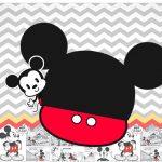 Marmitinha Grande Mickey Baby Vintage