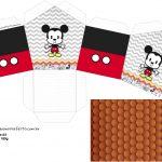 Molde Casinha Mickey Baby Vintage Kit Festa
