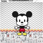 Molde Quadrado Mickey Baby Vintage
