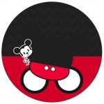 Molde para Latinha Mickey Baby Vintage Kit Festa