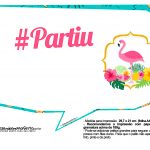 Plaquinhas Flamingo 3