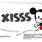 Plaquinhas Mickey Baby Vintage 3