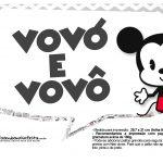 Plaquinhas Mickey Baby Vintage 5