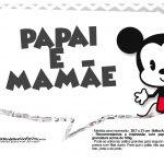 Plaquinhas divertidas Mickey Baby Vintage 6