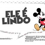 Plaquinhas divertidas Mickey Vintage 25