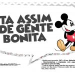Plaquinhas Mickey Vintage 26