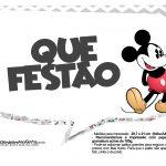 Plaquinhas Mickey Vintage 27