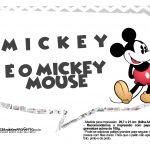 Plaquinhas divertidas Mickey Vintage 29